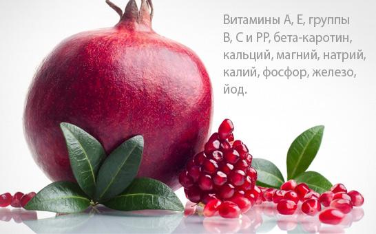granat-spisok-vitaminov